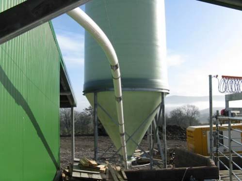 30 tonne feed silo