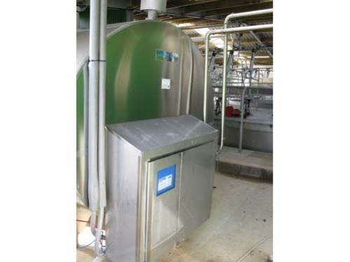 control panel for milk storage